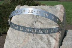 zegar słoneczny Zdjęcie Royalty Free