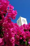 zegar santorini miasta. Zdjęcia Stock
