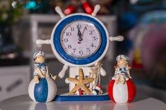 Zegar używać dla domowej dekoracji zdjęcie stock