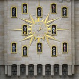 Zegar w Brussels zdjęcie royalty free