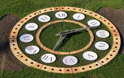 Zegar w parku Obrazy Stock