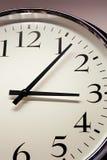 zegar z bliska Obrazy Stock