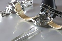 Zegarek baterii zastępstwo Obraz Stock