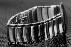 Zegarek bransoletka obrazy royalty free