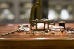 Zegarek Część Zdjęcia Stock