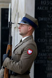 Zegarek grobowem Niewiadomy żołnierz obrazy royalty free