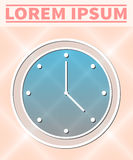 Zegarek ikona ilustracja wektor