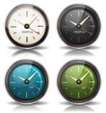 Zegarek ikony Ustawiać Zdjęcie Stock