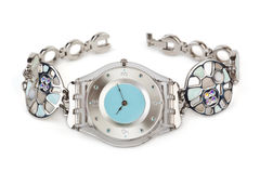 zegarek luksusowa kobieta Fotografia Stock