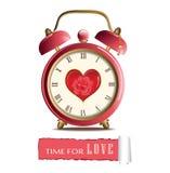 Zegarek miłość ilustracji