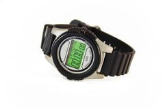 zegarek sportowym nadgarstek Obraz Royalty Free