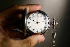 Zegarek w ręce Obrazy Royalty Free