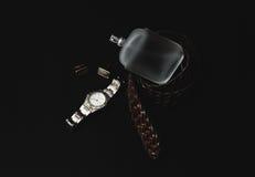 Zegarek z pachnidłem i mankiecikiem fotografia royalty free
