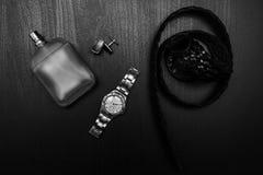 Zegarek z pachnidłem i mankiecikiem obrazy royalty free
