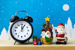 Zegarka i dzieci zabawki Fotografia Royalty Free