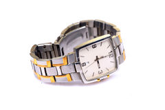 zegarka męski nadgarstek obrazy royalty free
