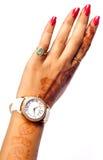 zegarka nadgarstek zdjęcie royalty free