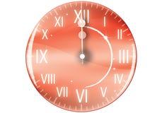 zegarka nowy rok Obraz Stock