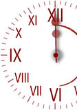 zegarka nowy rok Fotografia Royalty Free