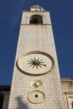 Zegarka wierza w Dubrovnik Zdjęcie Royalty Free