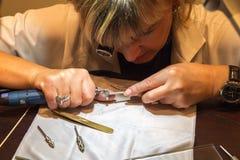 Zegarki & cudów Azja Horlogerie Pierwszy Haute wystawa Fotografia Royalty Free