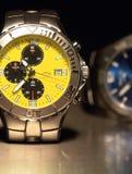 zegarki tytanu Zdjęcia Royalty Free