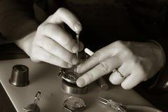 zegarmistrza Fotografia Royalty Free