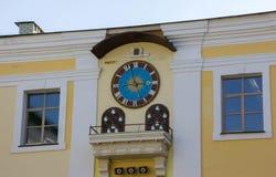 zegarowa dekoraci domu ściana Obraz Stock