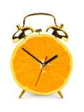 zegarowa owoc zrobił pomarańcze Zdjęcie Stock