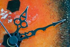 Zegarowe ręki Fotografia Stock