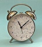 Zegarowego budzika dziesiąty godzina Obraz Royalty Free