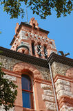 zegarowego sądu wieży główny waxahachie Teksas Zdjęcie Royalty Free