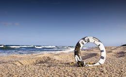 zegarowej tarczy krajobrazu morze Zdjęcia Royalty Free