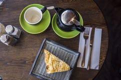 zegarowy życia wciąż herbaciany czas Zdjęcia Royalty Free