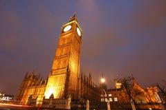 Zegarowy Big Ben wierza Obraz Royalty Free