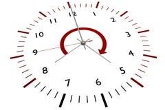 zegarowy biuro ilustracja wektor