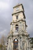 zegarowy dolmabahce Istanbul wierza zdjęcie stock