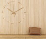 zegarowy drewno Fotografia Stock