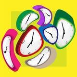 zegarowy kolor Zdjęcie Royalty Free