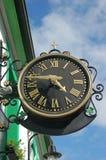 zegarowy koniczynowy czas Zdjęcie Royalty Free