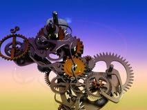 zegarowy machinalny ilustracji