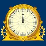 zegarowy magiczny rocznik Zdjęcie Royalty Free