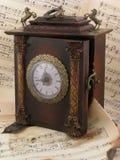 zegarowy muzykalny stary Obraz Royalty Free