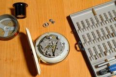 Zegarowy naprawianie Zdjęcie Stock