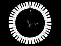 zegarowy pianino Obraz Stock