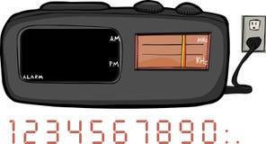 zegarowy radio Zdjęcie Royalty Free