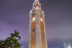 Zegarowy wierza Big Ben, Hong Kong obrazy royalty free