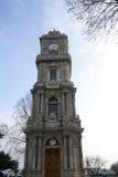 Zegarowy wierza Dolmabahce pałac Obraz Stock