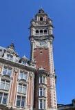 Zegarowy wierza Lille, Francja Fotografia Royalty Free