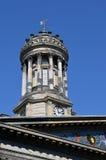 Zegarowy wierza, muzeum sztuka współczesna, Glasgow, Szkocja Obraz Royalty Free